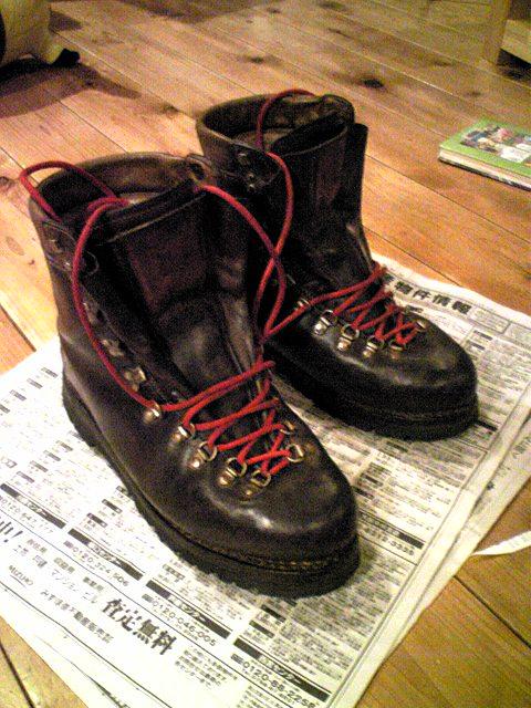 登山靴: COMPAS