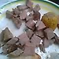 コブ牛のコブの肉